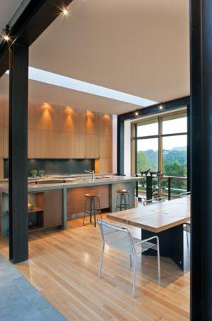 cuisine - Piedmont Residence par Carlton Architecture - Asheville, Usa