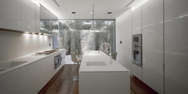 cuisine - Psychiko House par Divercity Architects - Athènes, Grèce