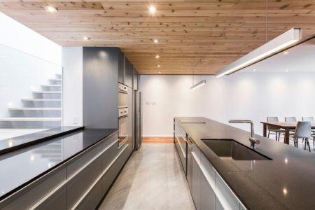 cuisine - Résidence Waverly par MU Architecture - Montréal, Canada