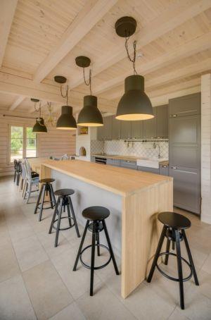 cuisine - Ranch par Aketuri Architekai - Lituanie
