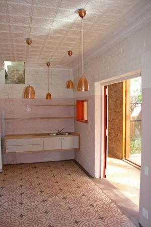 cuisine - Red-House par Kate Otten Architectes - Afrique du Sud