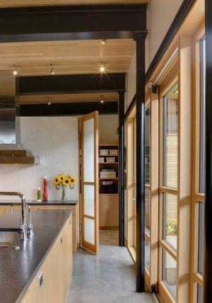 cuisine - River Bank house par Balance Associates Architects - Big Sky, Montana, Usa