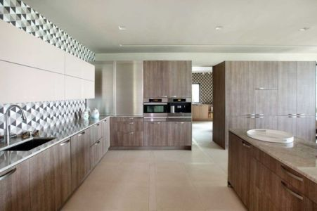 cuisine - Sands Point Residence par Narofsky Architecture - Long Island, Usa