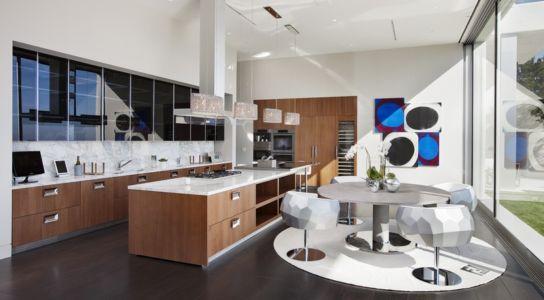 cuisine - Sarbonne par McClean Design - Los Angeles, Usa