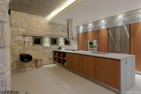 cuisine - Stone House par Whitebox Architectes - Athènes, Grèce