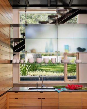 cuisine - The Hog Pen Creek Residence par LakeFlato - Austin, Usa
