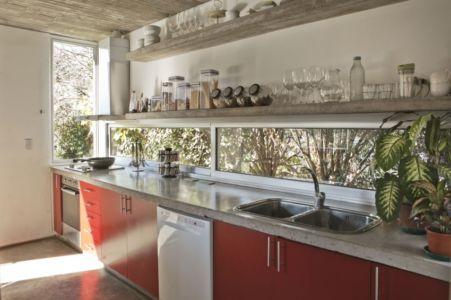 cuisine - Torcuato House par BAK arquitectos - Buenos Aires Province, Argentine
