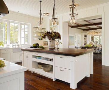 cuisine - Transitional Farmhouse Design par Total Design - Calistoga, Californie, Usa