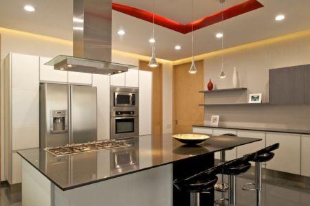 cuisine - V-House par Agraz Arquitectos - Puerta Plata, Mexique