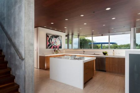 cuisine - Vidalakis-Residence par Swatt Miers Architects - Californie, USA