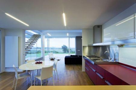 cuisine - Villa T by Architrend Architecture - Ragusa, Sicile, Italie