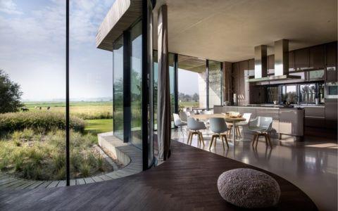 cuisine - W.I.N.D House par UNStudio - Pays-Bas