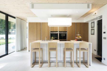cuisine - War house par A+B architectes - Montmorency, France
