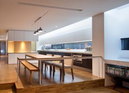 cuisine - Woljam-ri House par JMY architects - Gyeongsangnam-do, Corée du Sud