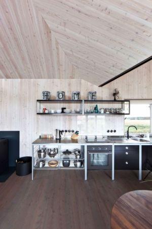 cuisine - Wooden-House par ASGK design - Lodin, République Tchèque