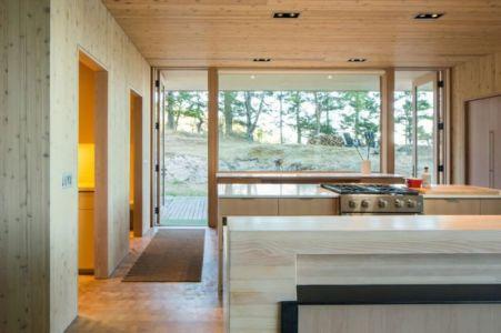 cuisine - Woodsy-Retreat par Heliotrope Architects - Washington, USA