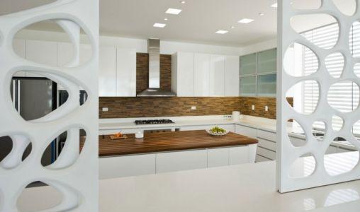 cuisine - casa-v par Estudio 6 Arquitectos - Perou