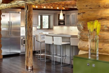 cuisine - chalet contemporain Thunderhead, Colorado, Usa