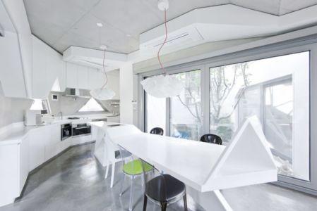 cuisine design - HWA HUN par IROJE KHM Architects - Pyeongchang-dong, Corée du Sud