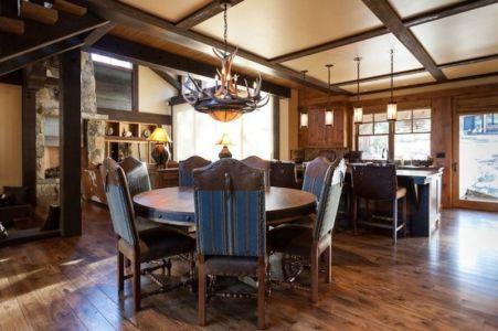 cuisine e tséjour - chalet de luxe par Walton Architecture - Martis Camp, Usa