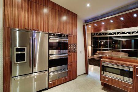 cuisine et équipements  - Flute house par The Think Shop Architects - Royal Oak , Usa