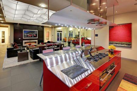 cuisine et salon - West Bellevue House - Washington, USA