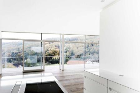 cuisine & grande baie vitrée - Villas-2B par Love Architecture - Graz, Autriche