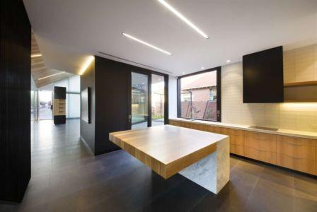 cuisine - harold-residence par Jackson Clements Burrows - Melbourne, Australie