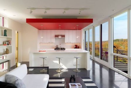 cuisine - hawks nest par wiedemann architects - Usa