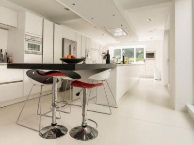 cuisine - magnifique propriété à vendre à Uccle en Belgique