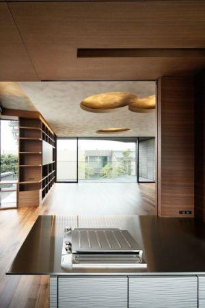 cuisine - maison-urbaine par Artechnic - Japon