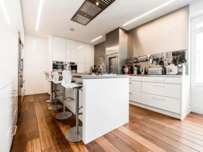 cuisine moderne - vue à 360 degrés - Bruxelles, Belgique