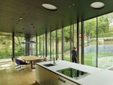 cuisine & séjour - House-GT par Archinauten - Linz, Autriche