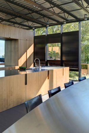 cuisine & séjour - Shokan-House par Jay Bargmann - New York, USA