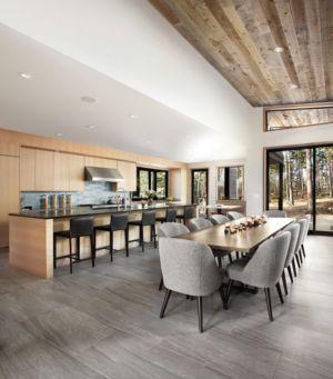 cuisine & séjour - butterfly-house par Sagemodern - Californie, USA