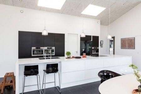 cuisine & séjour- maison exclusive par Skanlux - Danemark