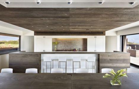 cuisine & séjour - sagaponack par Bates Masi Architects - Sagaponack, USA