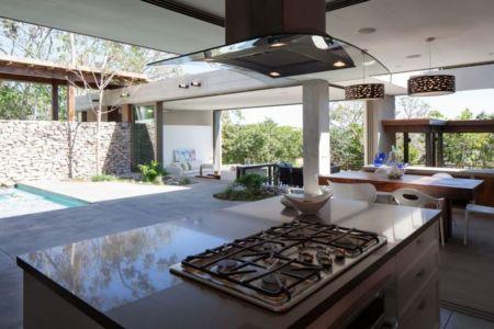 cuisine & séjour secondaire - Garden-House par Cincopatasalgato - El Salvador