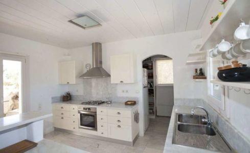 cuisine - villa-grecque - île Mykonos, Grèce