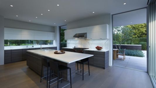 cusine - Orchard House par Stelle Lomont Rouhani Architects - Sagaponack, Usa