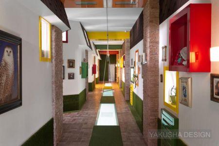 déco couloir - House «Ecominimalizm». par Yakusha Design - Dnipropetrovsk, Ukraine