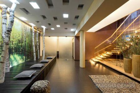 déco entrée - House «Ecominimalizm». par Yakusha Design - Dnipropetrovsk, Ukraine