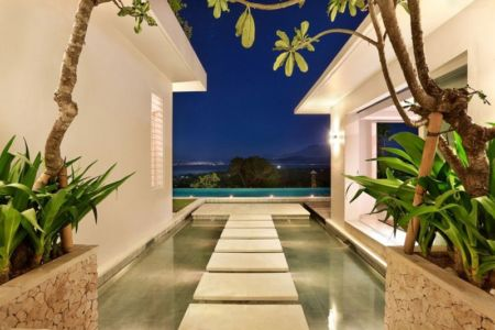 bassin dans patio - jodie-cooper-design par Jodie Cooper Design - Bali, Indonesie