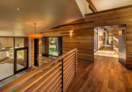 demi palier - Flight House in Martis Camp par Sage Architecture - Truckee, Usa