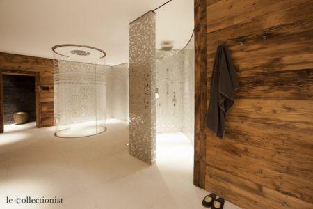 douche - Chalet Carl à louer à Oberlech en Autriche - Le Collectionist