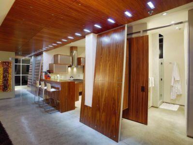 douche  - Flute house par The Think Shop Architects - Royal Oak , Usa