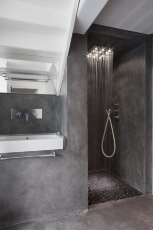 douche - Rénovation Maison V - Olivier Chabaud Architecte - France