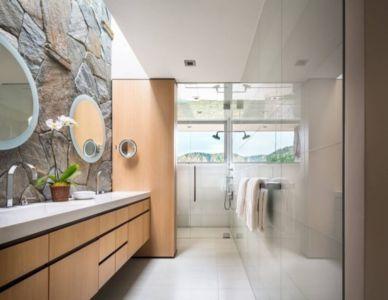 douche et salle de bains - Malibu Crest par Studio Bracket - Malibu, Usa