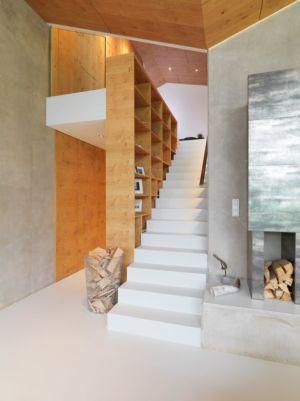 emplacement bois & étage - Mountain-View House par SoNo arhitekti - Kitzbuehel, Slovénie