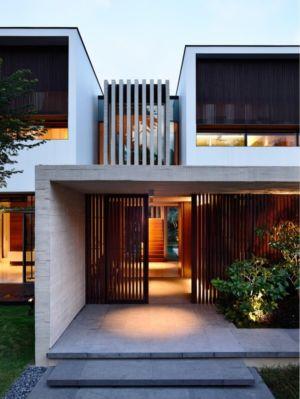 entrée - 59BTP House par ONG&ONG - Singapour